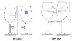 ¿Copa o catavino? - Modelo copas 2016 y 2017