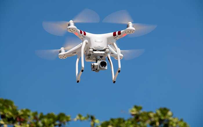 Viñas y drones